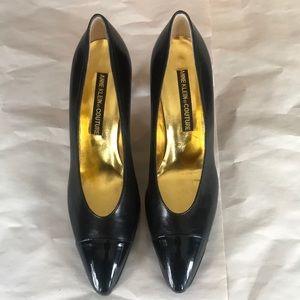 Vintage Anne Klein Couture Black Pumps